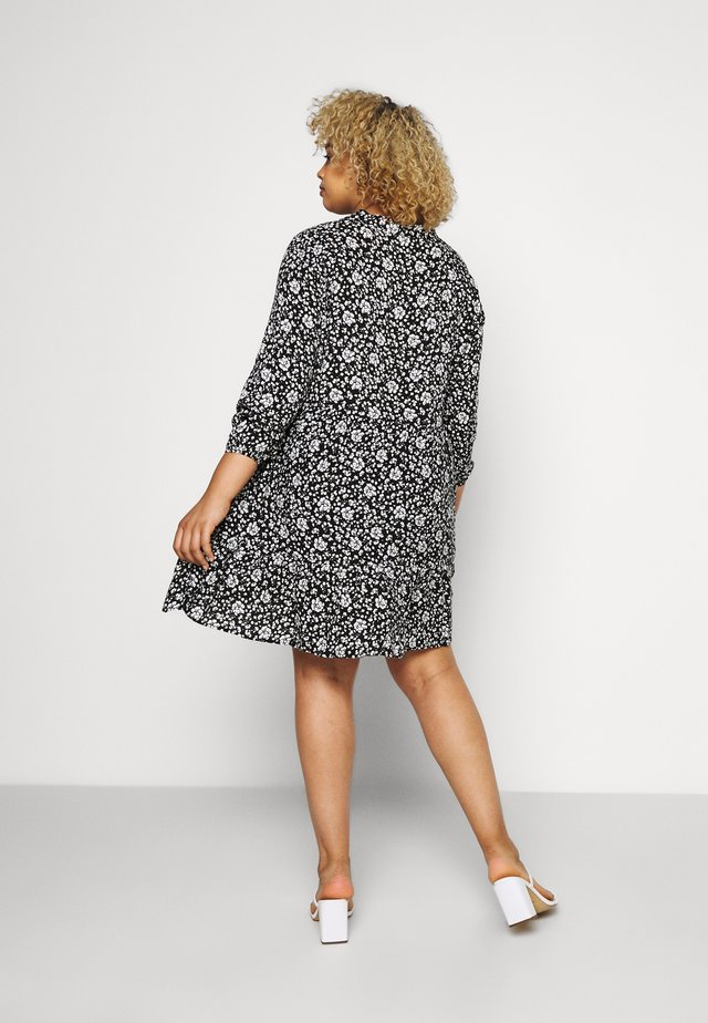 CARLOLA THEA TUNIC DRESS - Korte jurk - black