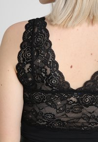 ONLY Carmakoma - CARCLAIR BODYSTOCKING - Top - black - 5