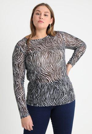 CARAUGUST ONECK - Maglietta a manica lunga - black