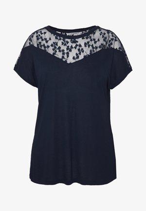 CARLINN MIX - Print T-shirt - navy blazer