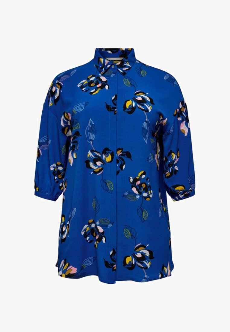 ONLY Carmakoma - Skjortebluser - blue