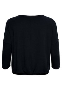 ONLY Carmakoma - CARMILLE PLEATED 3/4 TOP - T-shirt à manches longues - night sky - 1