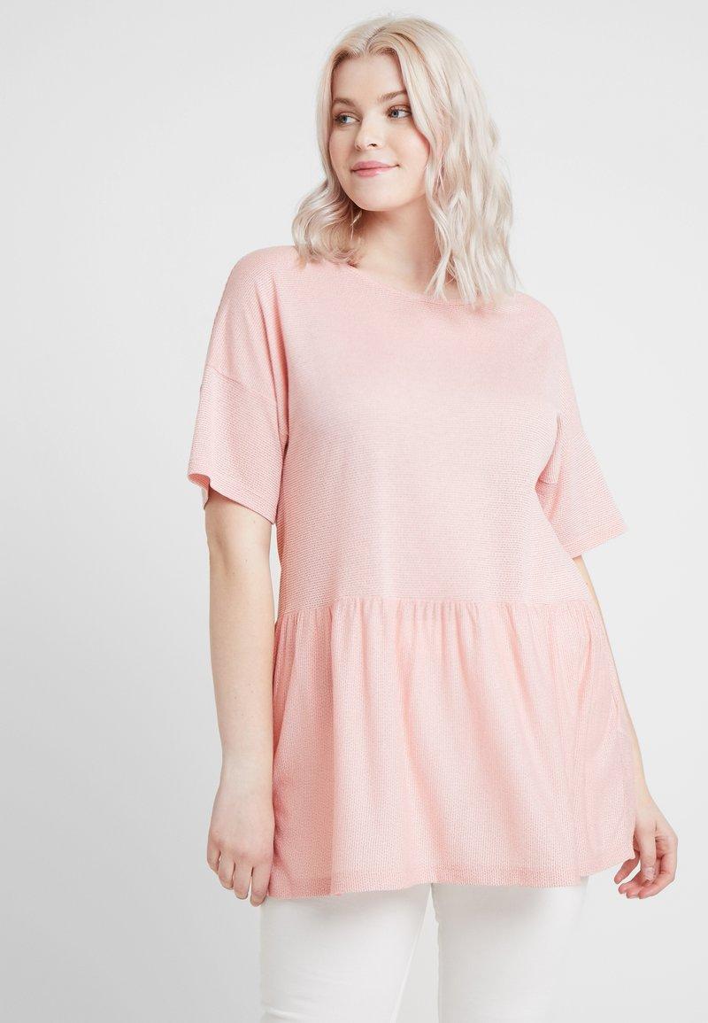 ONLY Carmakoma - CARLAKE TEE - T-Shirt print - misty rose