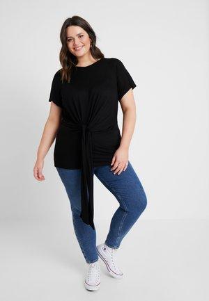 CARRAW - Print T-shirt - black