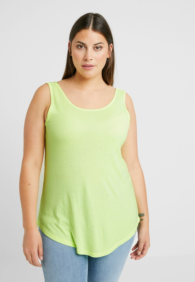 ONLY Carmakoma - CARIDA TANK - Top - neon yellow