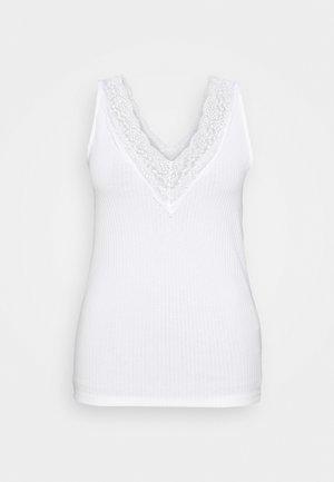 CARSILKA TANK - Top - bright white