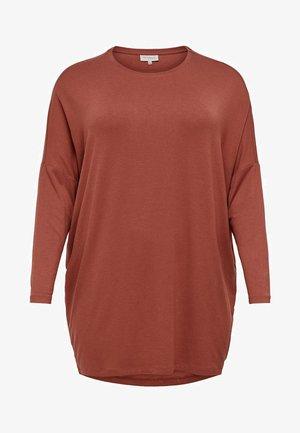CARCARMA  - T-shirt à manches longues - marsala