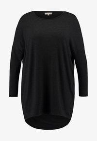 ONLY Carmakoma - CARCARMA  - Camiseta de manga larga - black/melange - 4