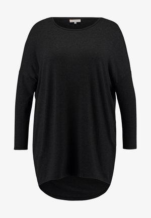 CARCARMA  - Long sleeved top - black/melange