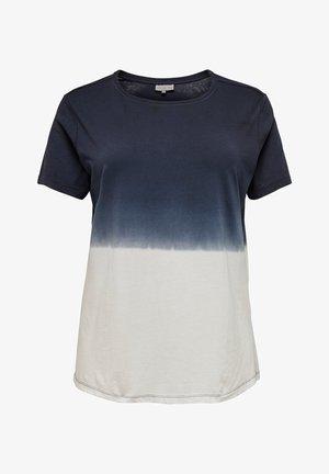 MIT KURZEN ÄRMELN CURVY BATIK - T-Shirt basic - night sky