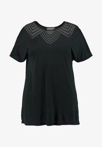 ONLY Carmakoma - CARVITTA LIFE - Print T-shirt - black - 3