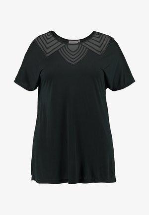 CARVITTA LIFE - T-shirts med print - black