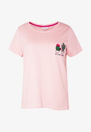 CARCHASE LIFE TEE - T-shirt imprimé - misty rose