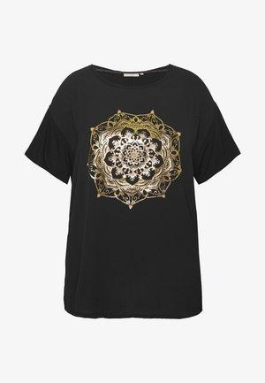 CARART TEE - T-shirts med print - black