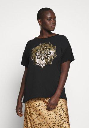 CARART TEE - Print T-shirt - black