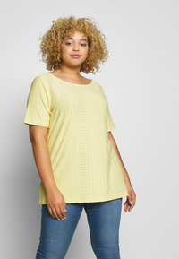 ONLY Carmakoma - CARZABBA - T-shirts med print - pineapple slice - 0