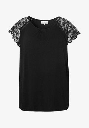 CARAMBER - Print T-shirt - black