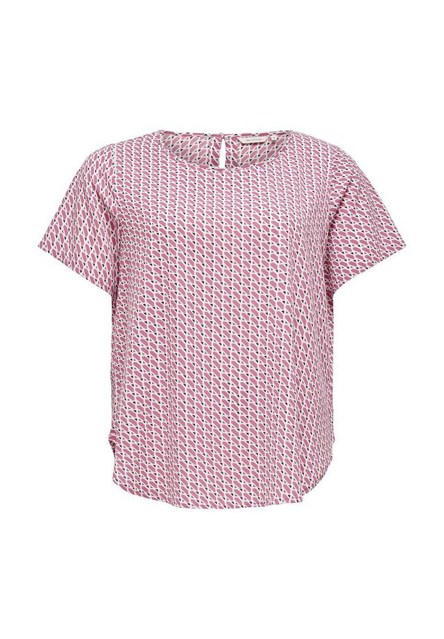 EINFARBIGES - Blouse - misty rose