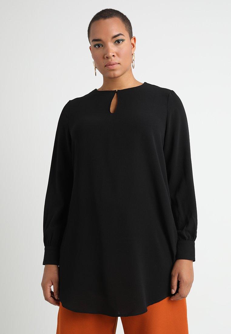 ONLY Carmakoma - CARNUT SOLID - Bluser - black