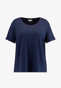 ONLY Carmakoma - CARCARMA - Camiseta básica - night sky melange - 3