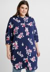 ONLY Carmakoma - CARMAX 3/4 - Button-down blouse - navy