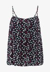 ONLY Carmakoma - CARBAX SINGLET - Top - night sky/red
