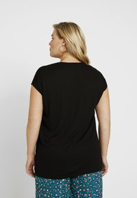 ONLY Carmakoma - CARFLAKE MIX - Blouse - black - 2