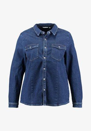 CARSANDY SHIRT - Skjorte - dark blue denim