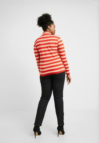 ONLY Carmakoma - CARLIVE HIGH NECK - Long sleeved top - fiery red/dandy