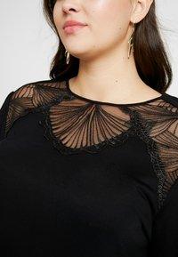 ONLY Carmakoma - CARMATHILDE - Long sleeved top - black - 4