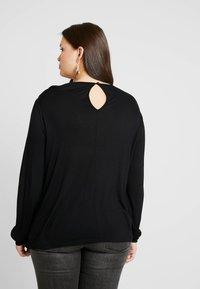 ONLY Carmakoma - CARMATHILDE - Long sleeved top - black - 2