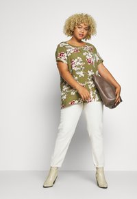 ONLY Carmakoma - Blouse - martini olive - 1