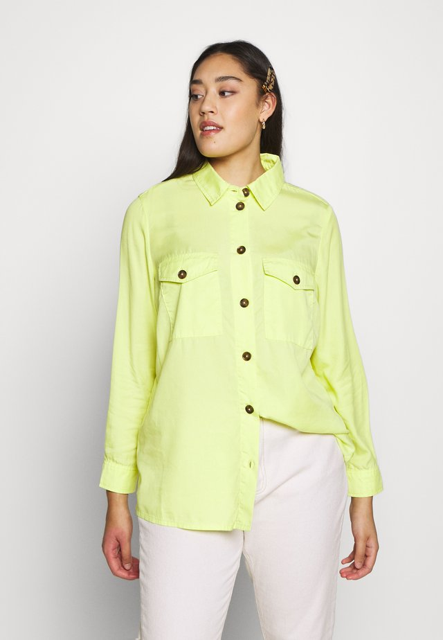 CARSTELLO LIFE   - Button-down blouse - evening primrose