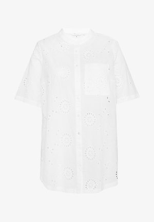 CARCHICARO LONG - Button-down blouse - cloud dancer