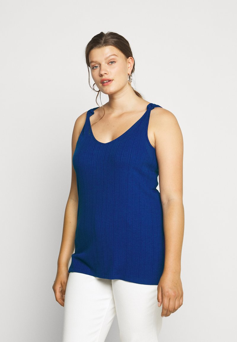 ONLY Carmakoma - CARSOPHIA  - Top - blue