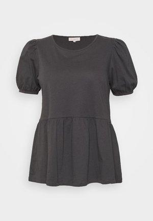 CARANNI 2/4 PUFF TOP - Blouse - dark grey