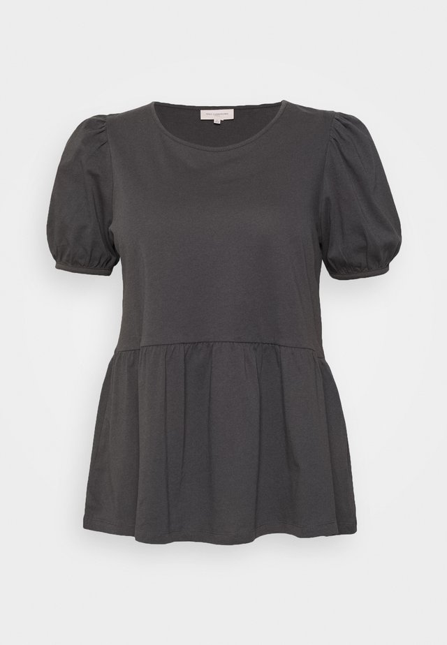 CARANNI 2/4 PUFF TOP - Bluse - dark grey