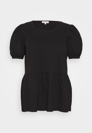 CARANNI PUFF - T-shirts med print - black