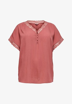 LOCKERES CURVY - T-shirts print - mineral red