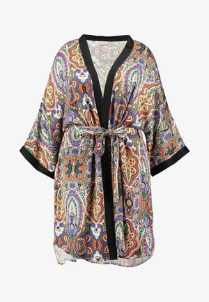 CARBOHE 3/4 KNEE KIMONO - Summer jacket - orange