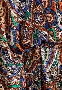 ONLY Carmakoma - CARBOHE 3/4 KNEE KIMONO - Summer jacket - orange - 4