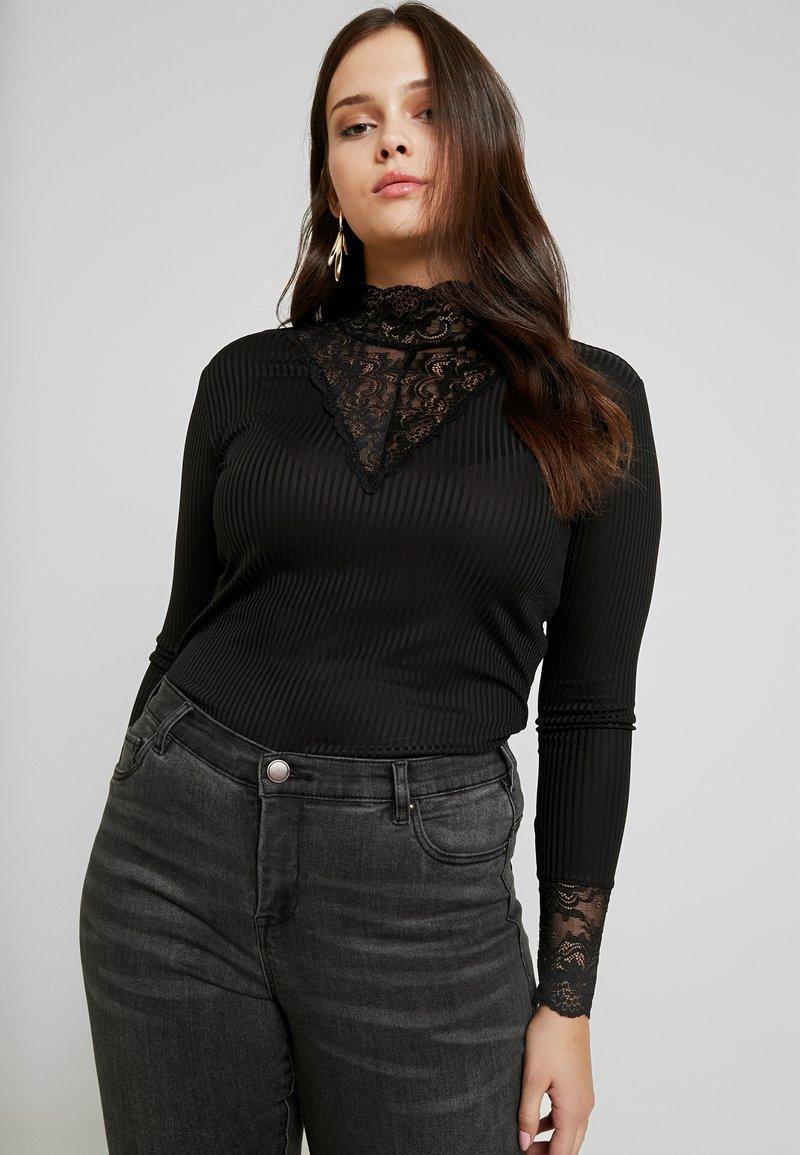 ONLY Carmakoma - T-shirt à manches longues - black