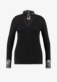 ONLY Carmakoma - T-shirt à manches longues - black - 3