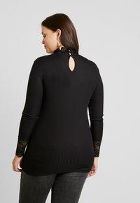 ONLY Carmakoma - T-shirt à manches longues - black - 2