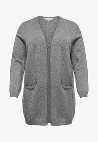 ONLY Carmakoma - CARSTONE  - Gilet - medium grey melange - 5