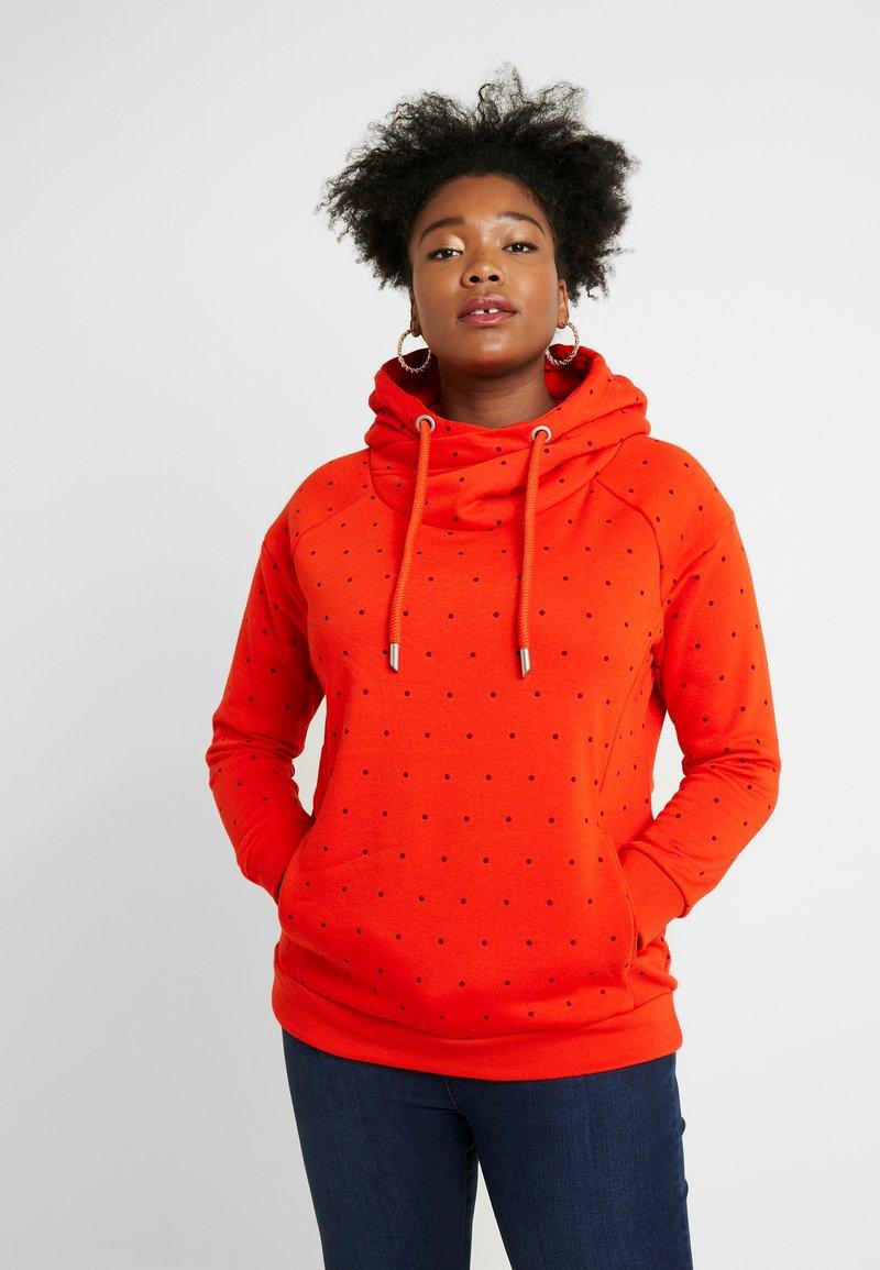 ONLY Carmakoma - CARMELIND HIGHNECK - Hoodie - orange
