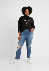 ONLY Carmakoma - CARGLAM - Jumper - black - 1