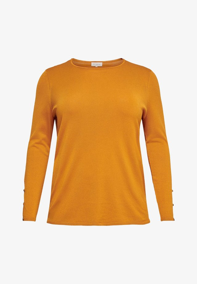 CURVY - Sweter - gold