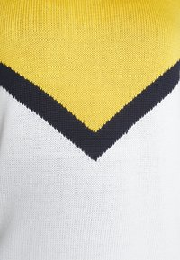 ONLY Carmakoma - CARSARA BLOCK - Neule - yellow/white - 4