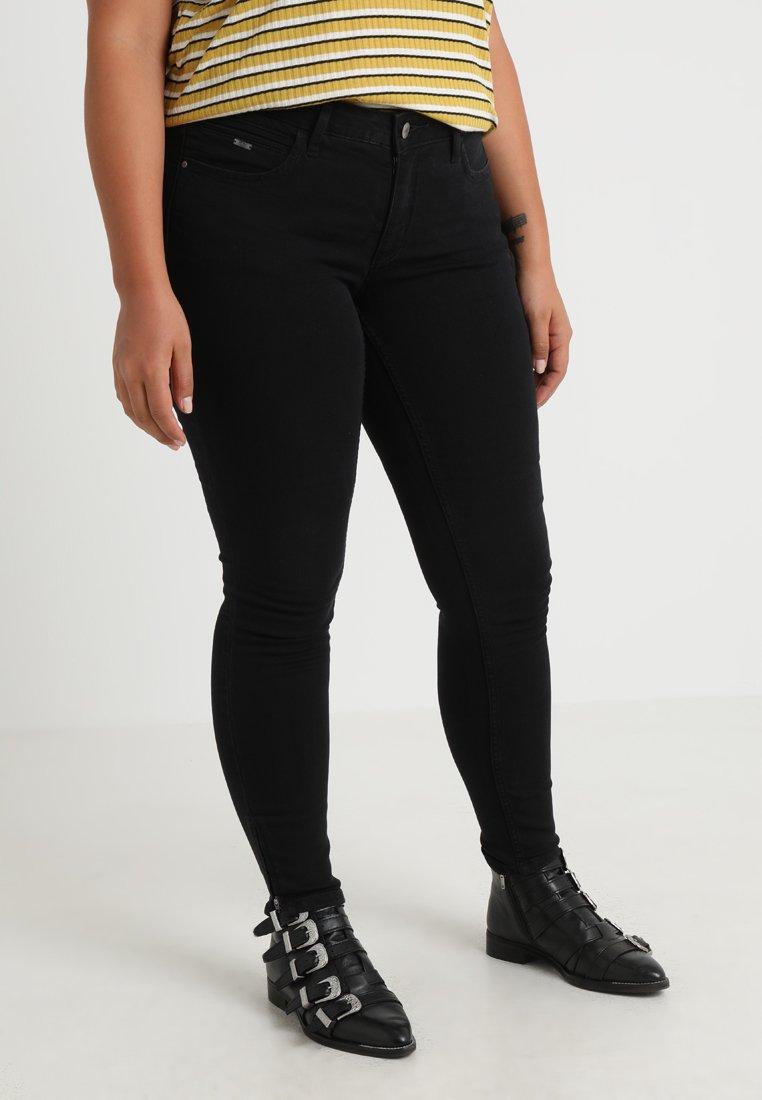 ONLY Carmakoma - CARKARLA ANKLE - Jeans Skinny Fit - black